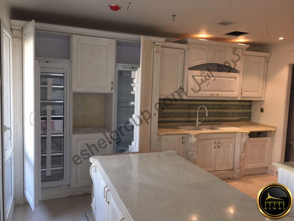 classic kitchen cabinet-کابینت آشپزخانه کلاسیک