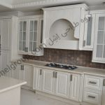wooden kitchen cabinet-classicکابینت کلاسیک چوب