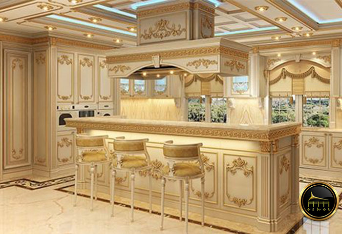 royal kitchen cabinet کابینت سلطنتی (1)