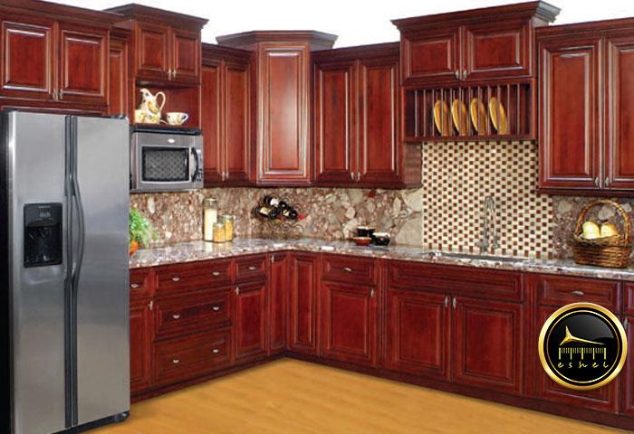 کابینت ام دی اف طرح چوب-mdf cabinet with wood pattern